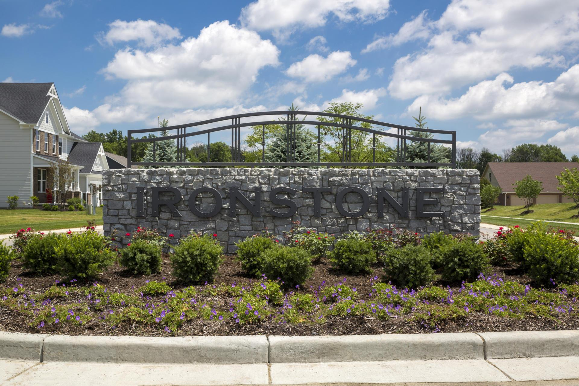 The Ironstone Community Entrance