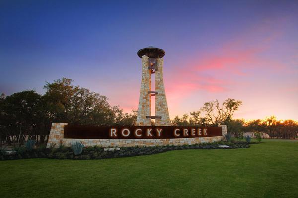 The Rocky Creek Entrance