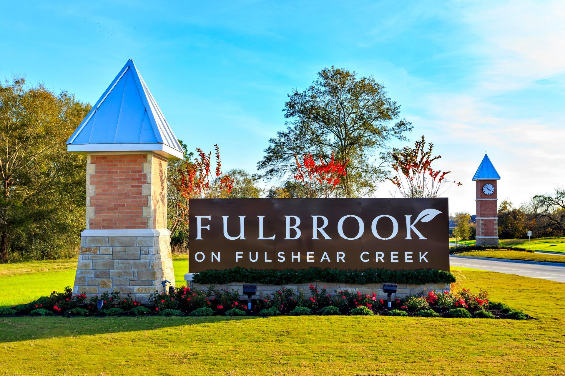 Fulbrook on Fulshear Creek Entrance