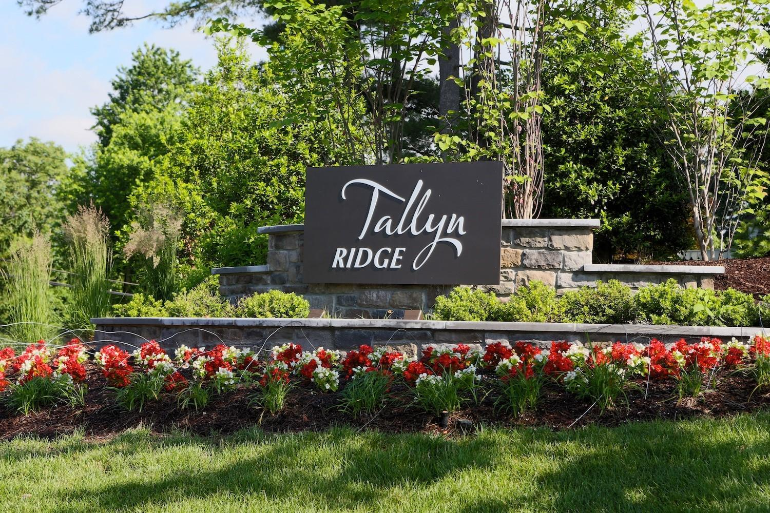 Tallyn Ridge Entrance