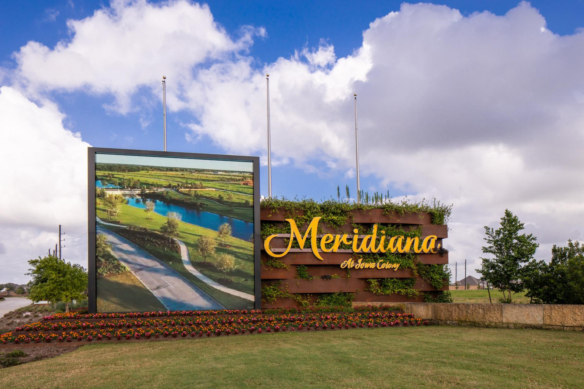 Meridiana Community Entrance