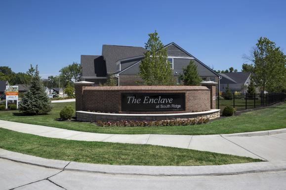 Enclave at South Ridge entrance