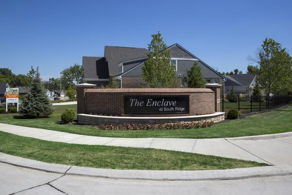 Enclave at South Ridge entrance
