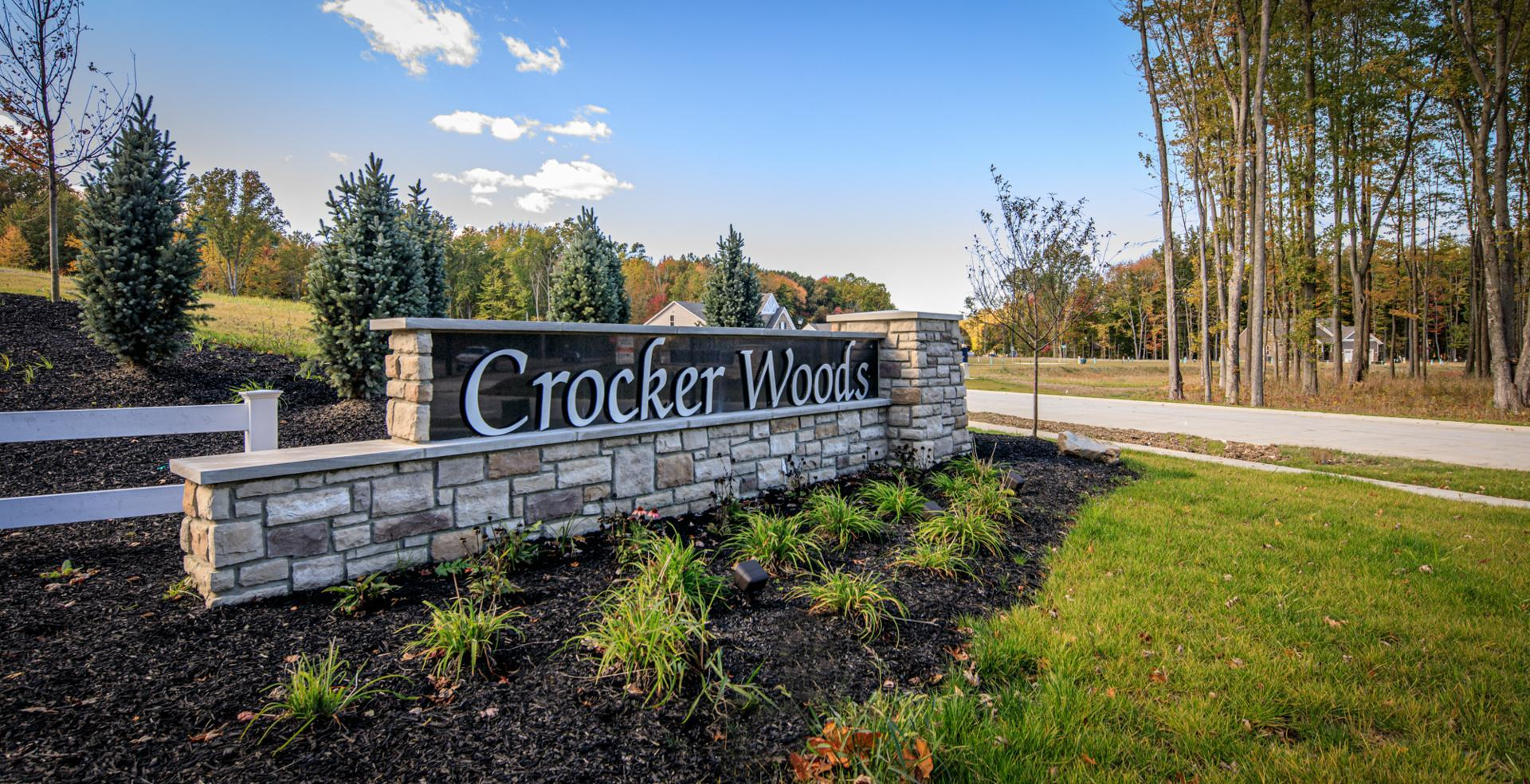 The Crocker Woods Entrance
