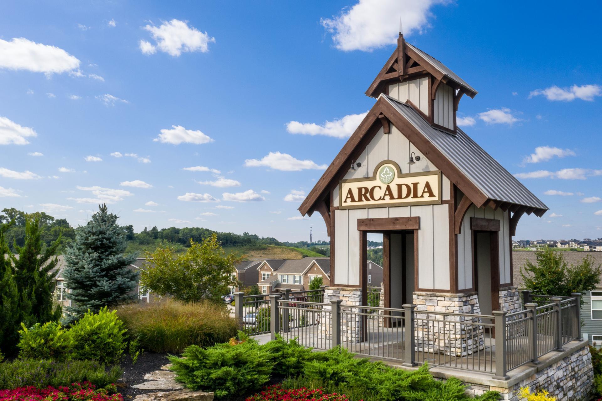The Arcadia entrance