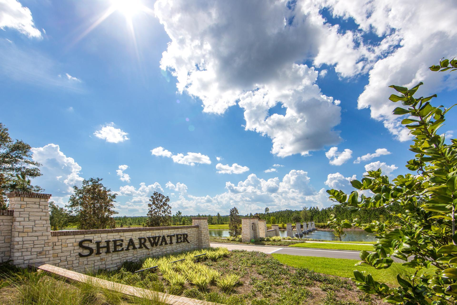 The Shearwater Entrance