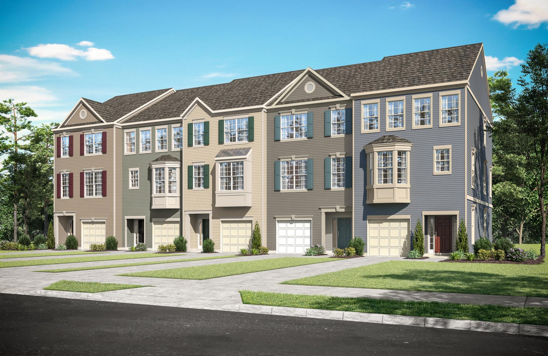 Exterior:Surry Townhomes