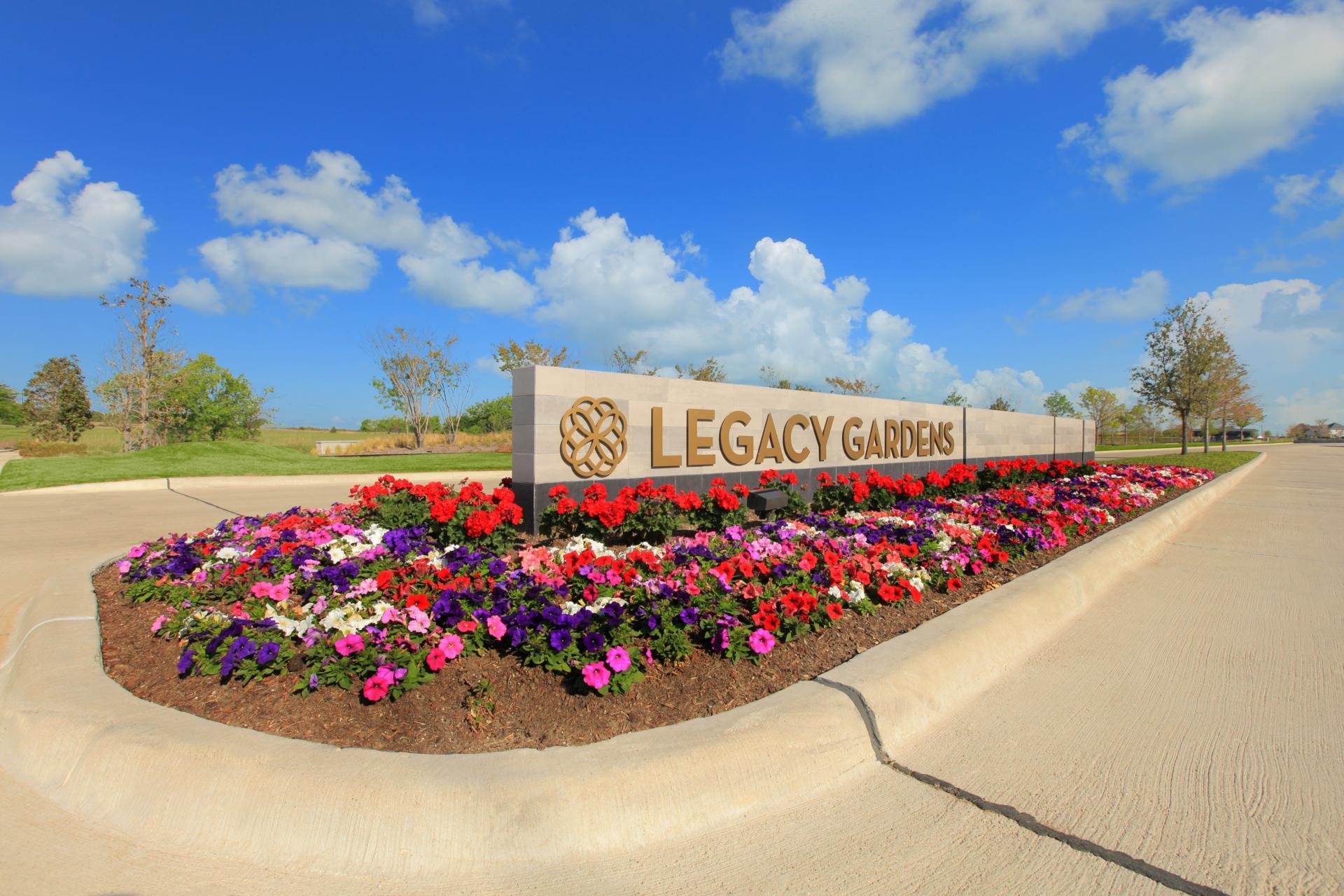 Legacy Gardens Entrance