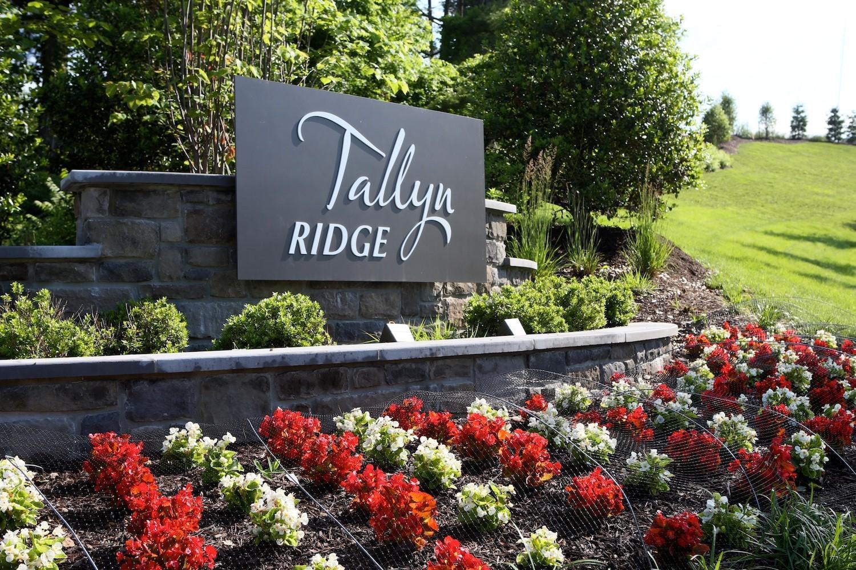 Tallyn Ridge Entrance