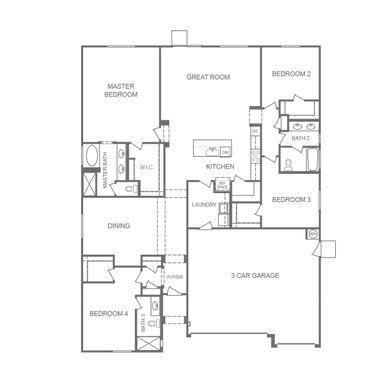 2430 Plan Plan At Elara Manor In Las Vegas Nv By D R Horton