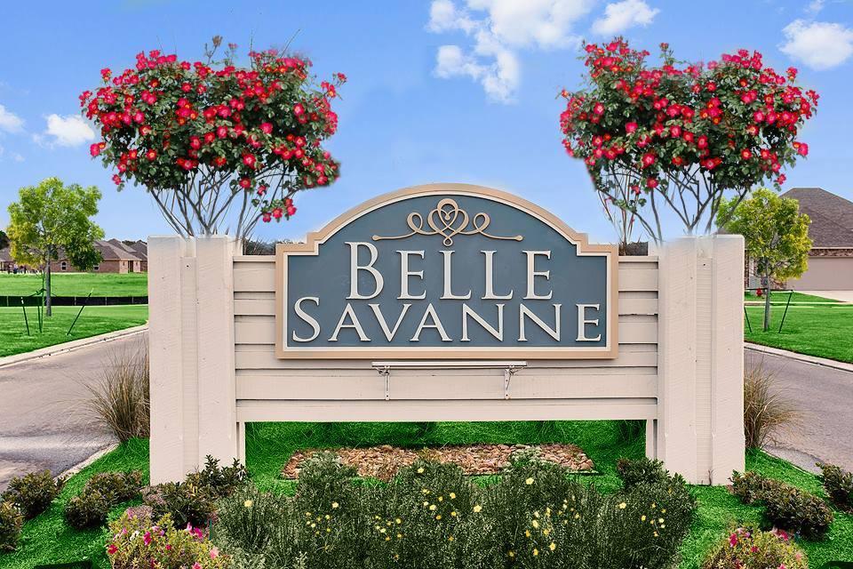 new homes in sulphur, la by dsld homes:Front Entrance Sign - Belle Savanne - DSLD Homes Lake Charles