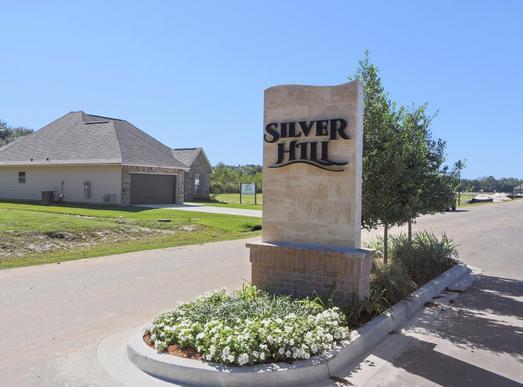 Silver Hill- Community Entrance Sign- Ponchatoula Louisiana- Hammond area- DSLD Homes:Silver Hill Entrance Sign