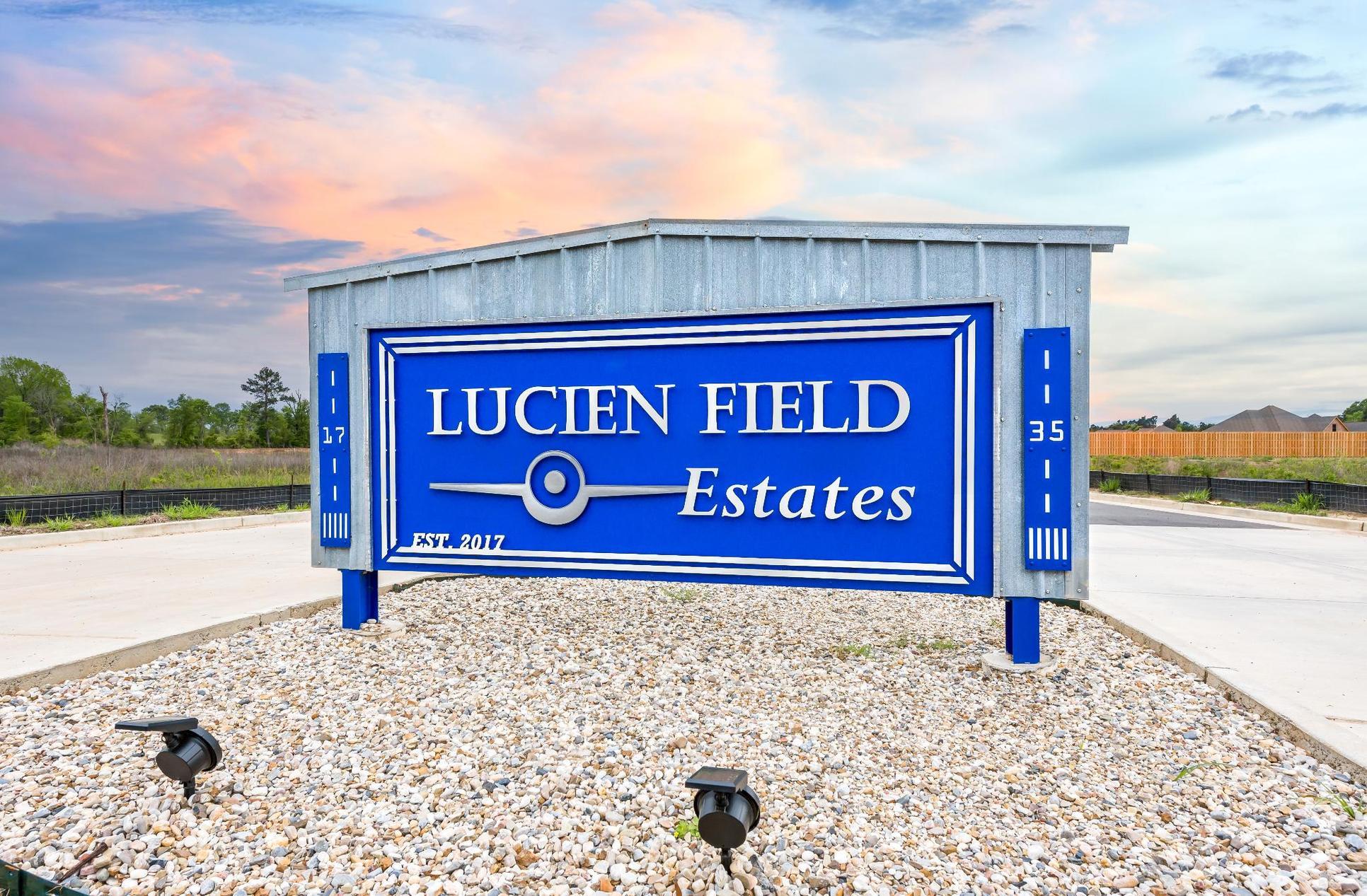 Front Entrance Sign - Lucien  Estates - DSLD Homes Shreveport