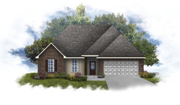 Lyon IV A - Open Floor Plan - DSLD Homes