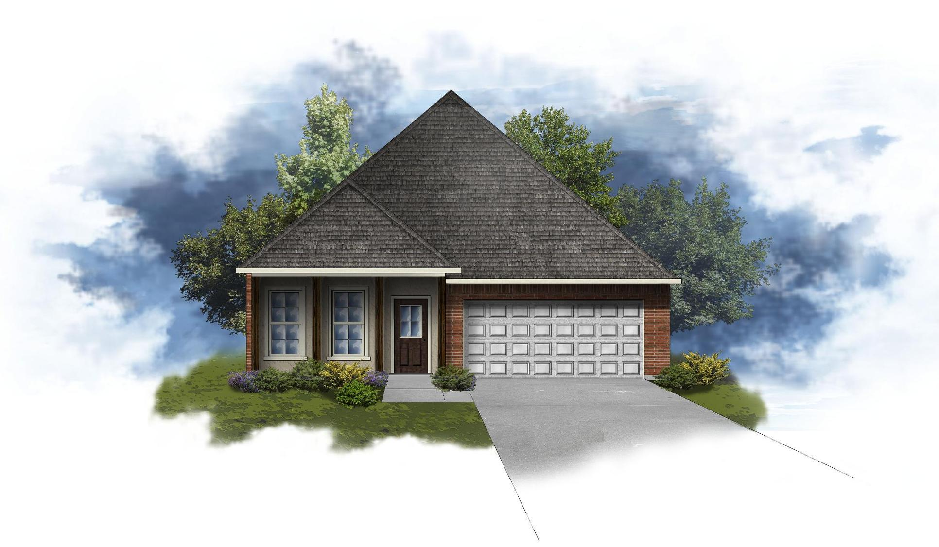 Orleans IV B - Open Floor Plan - DSLD Homes