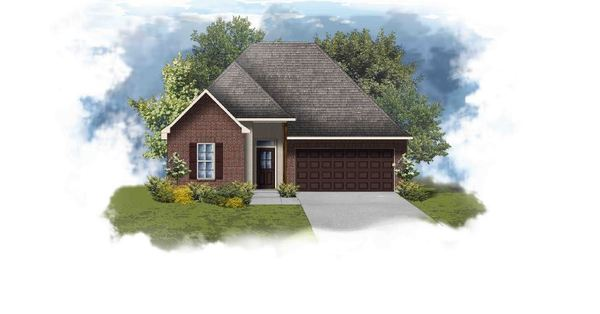Toulouse III B - Open Floor Plan - DSLD Homes