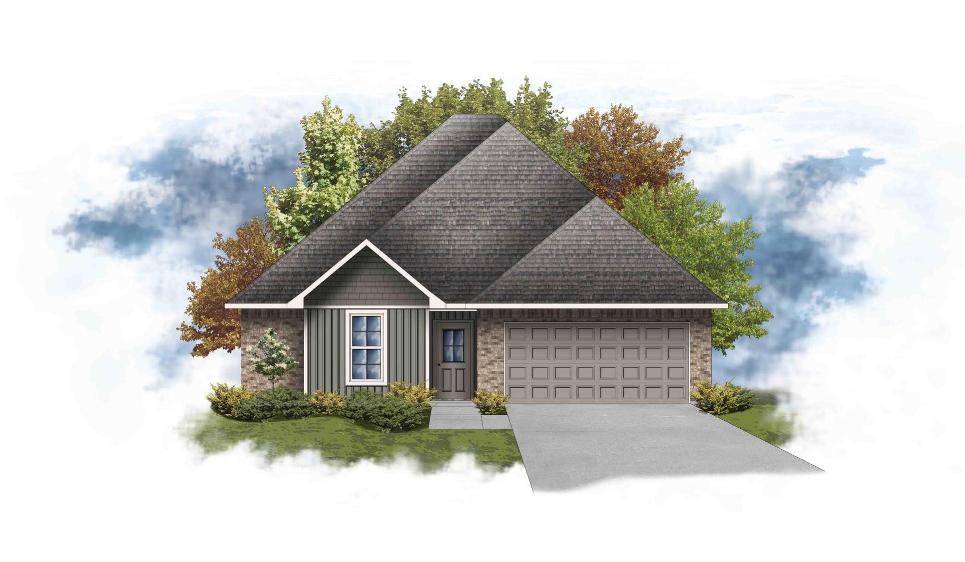 Blackburn III G - Open Floor Plan - DSLD Homes