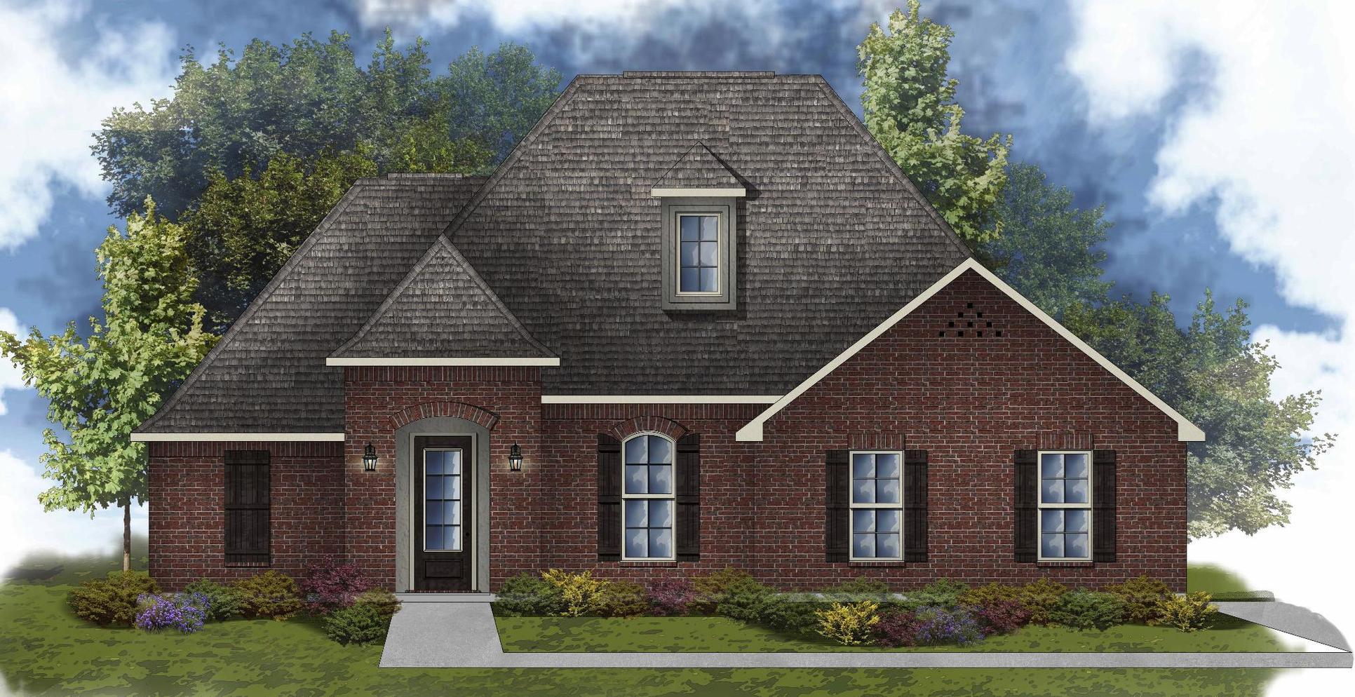 Clayton II B - Water View - Open Floor Plan - DSLD Homes