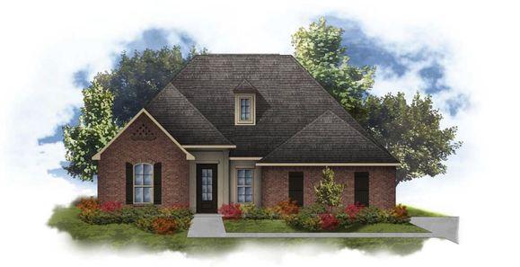Hedley II A - Open Floor Plan - DSLD Homes