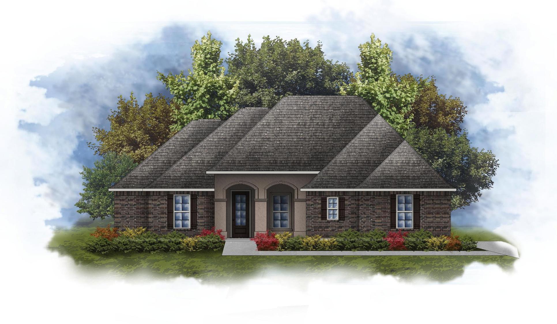 Keely II A - Open Floor Plan - DSLD Homes