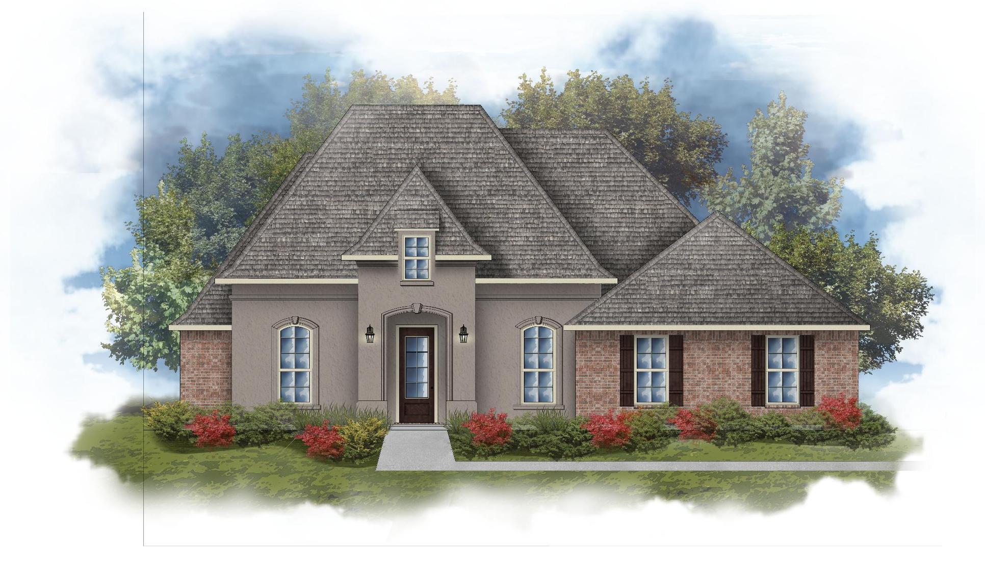 Rossi III B Open Floorplan Elevation Image - DSLD Homes