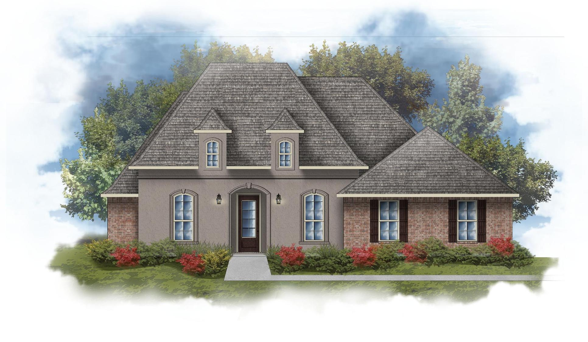 Rossi III A Open Floorplan Elevation Image - DSLD Homes