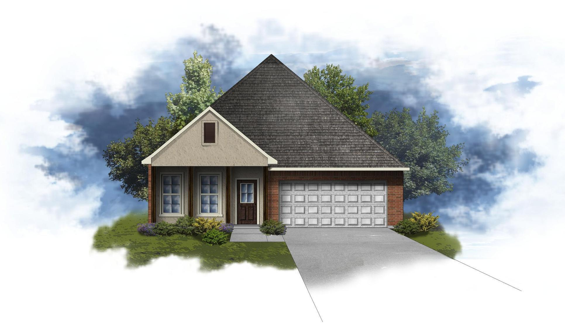 Oxford IV A - Open Floor Plan - DSLD Homes