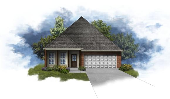 Oxford IV B - Open Floor Plan - DSLD Homes