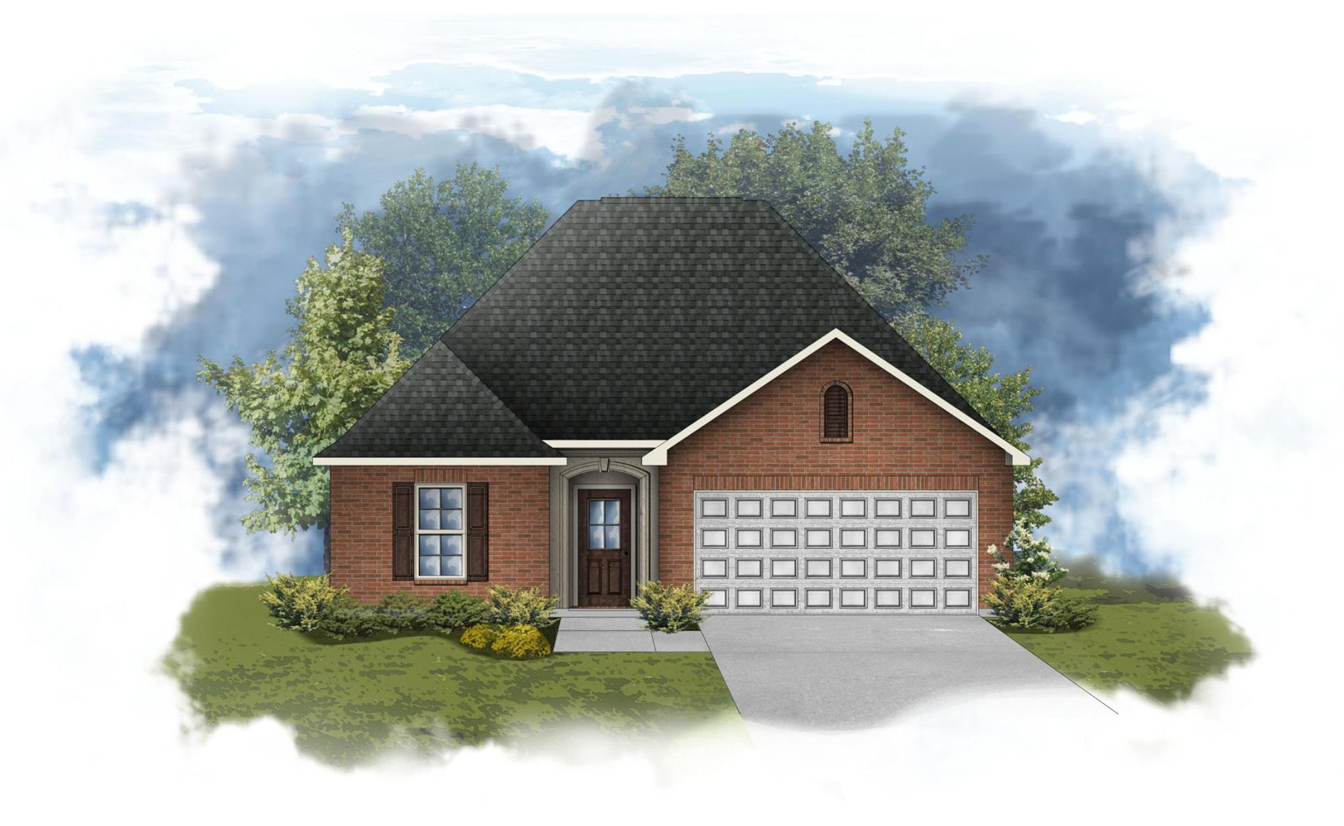 Cezanne III A - Open Floor Plan - DSLD Homes:Chantilly III A - Open Floor Plan - DSLD Homes