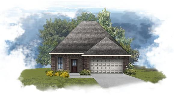 Fontaine IV B - Open Floor Plan - DSLD Homes