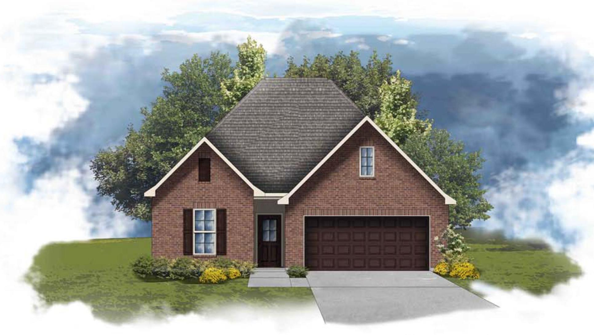 Fleetwood II A - Open Floor Plan - DSLD Homes