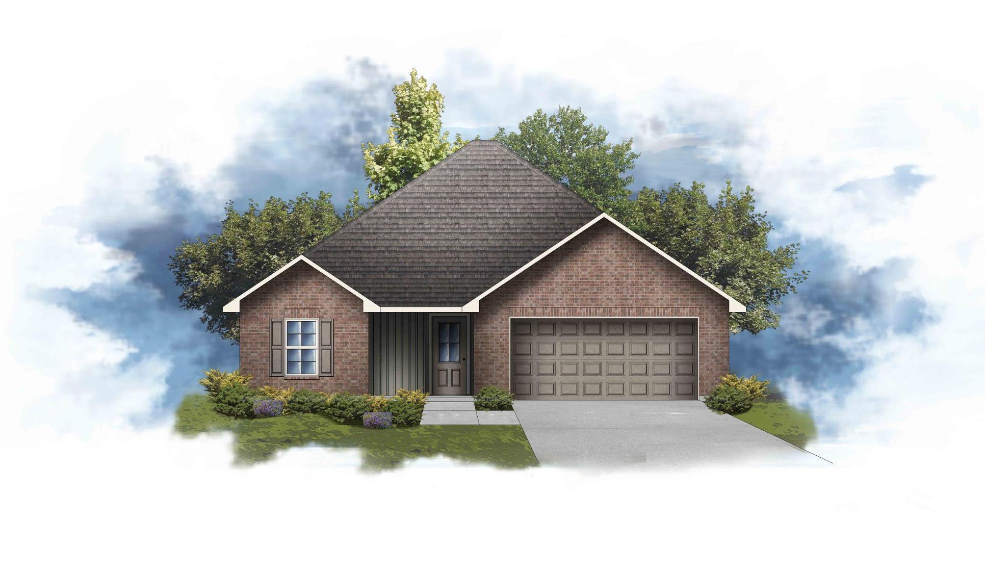 Ayden III G Open Floor Plan - DSLD Homes