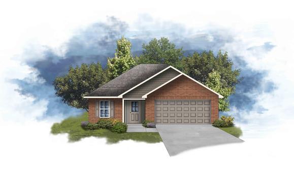 Denton III G - Open Floor Plan - DSLD Homes