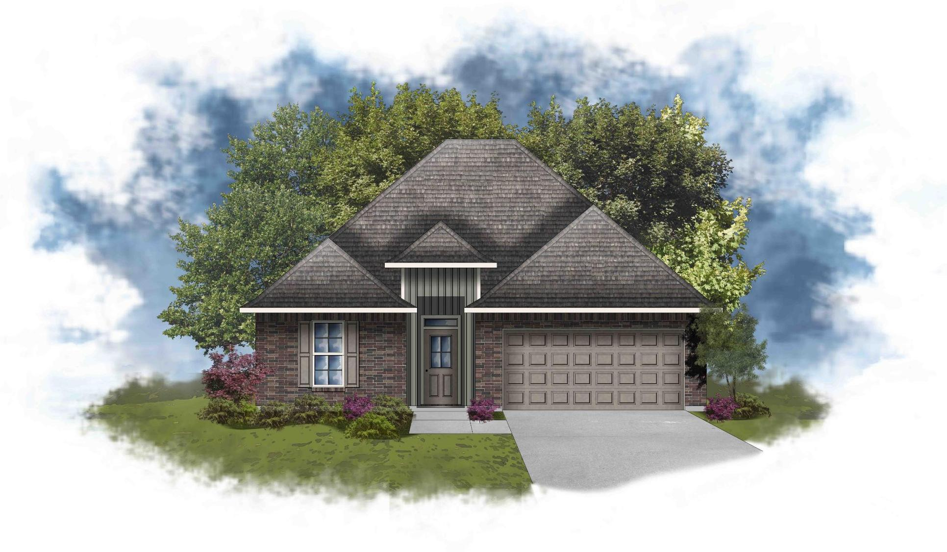 Liberty IV G - Open Floor Plan - DSLD Homes