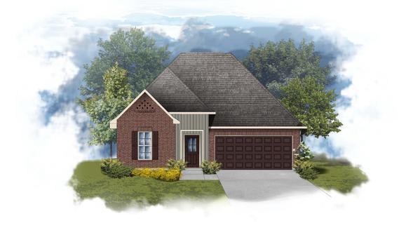 Troy III G - Open Floor Plan - DSLD Homes