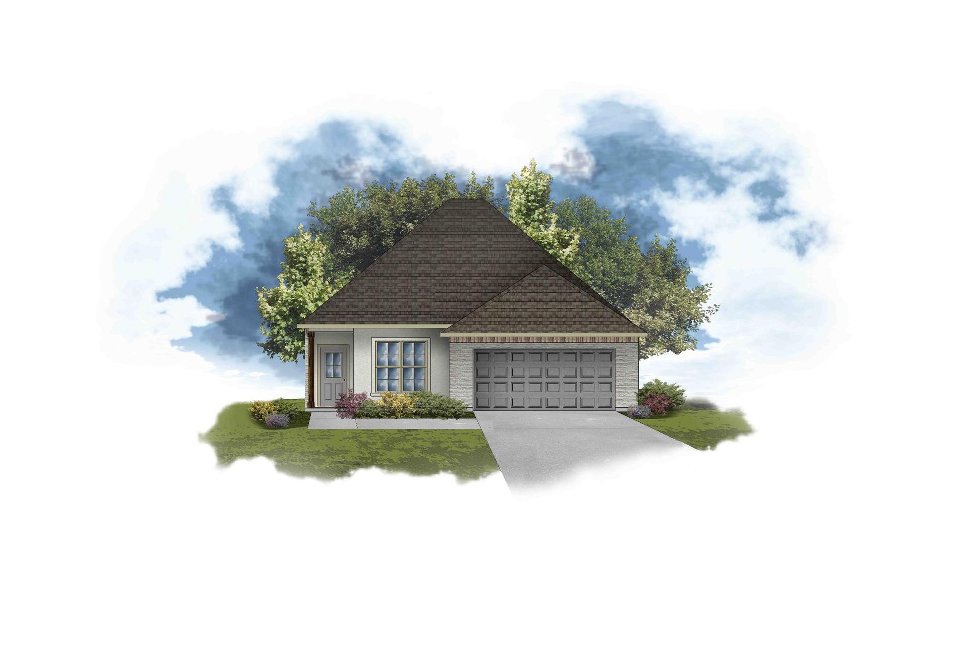 Bagneaux III B - PB - Open Floor Plan - DSLD Homes