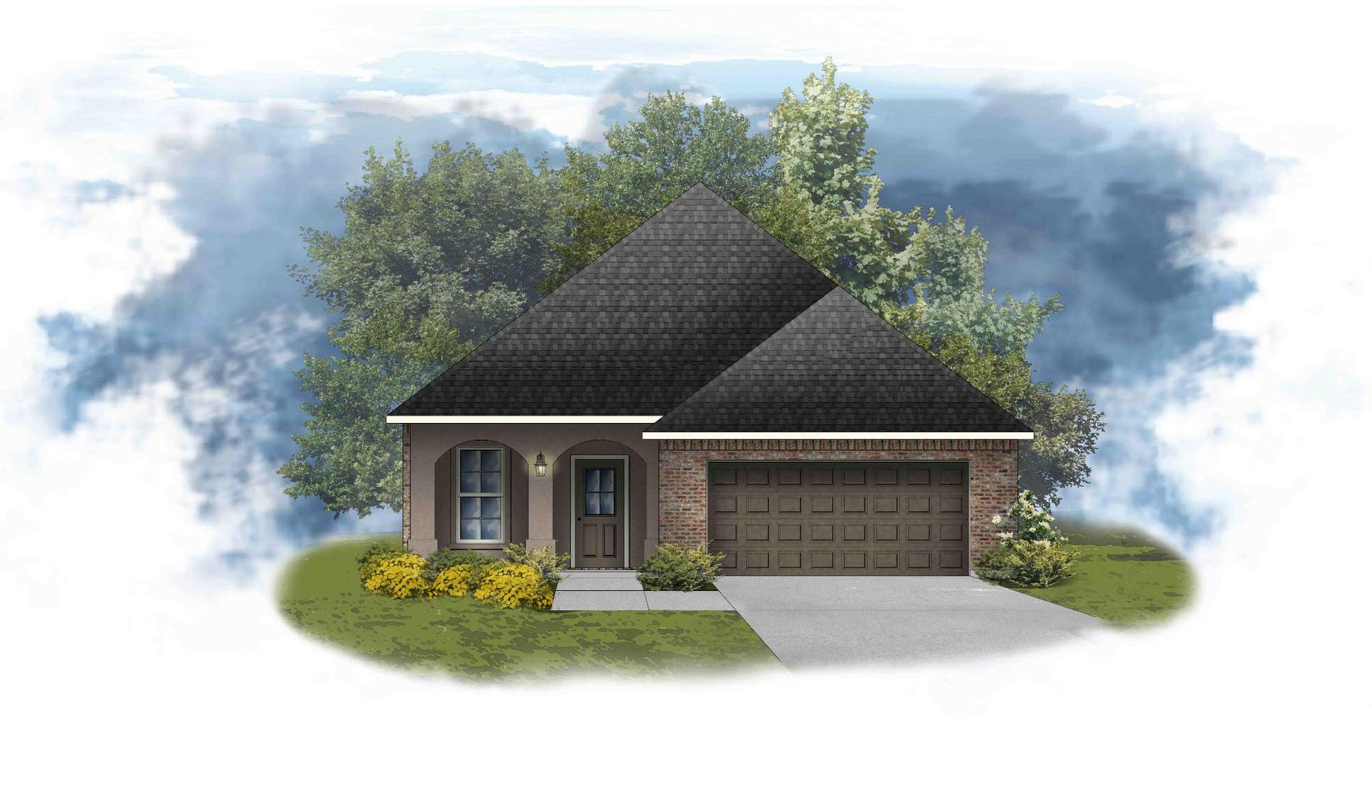 Fontaine IV A - PB - Open Floor Plan - DSLD Homes