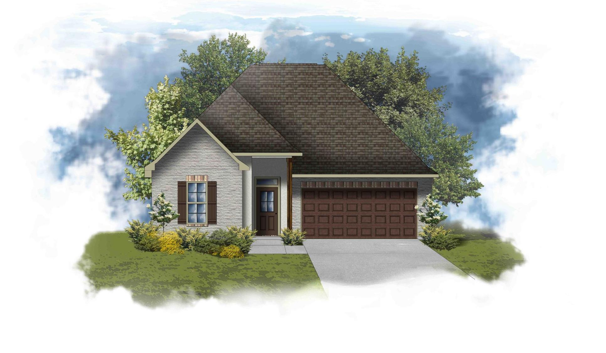 Toulouse III B - PB - Open Floor Plan - DSLD Homes