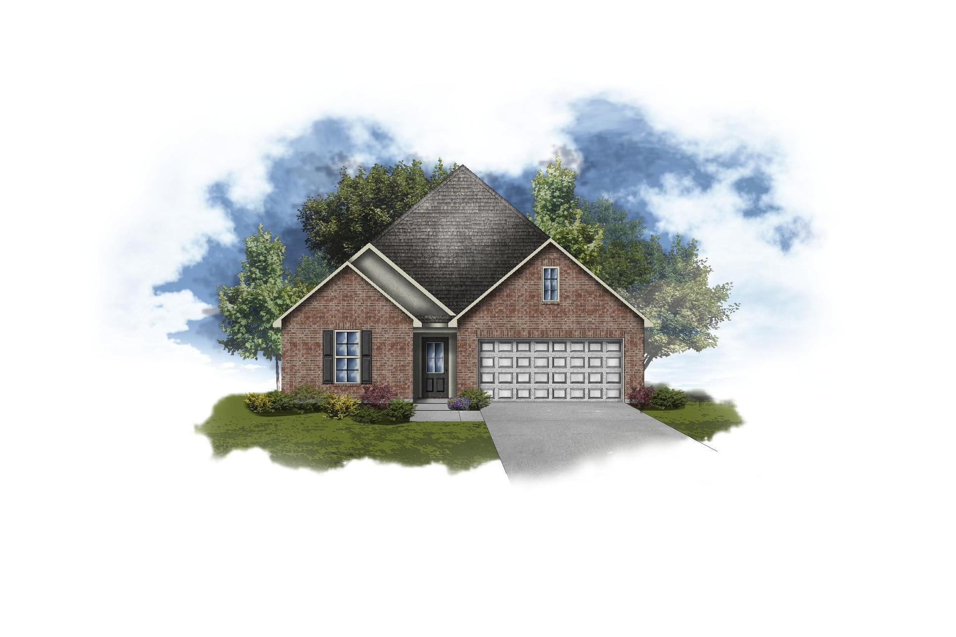 Macon IV A - Open Floor Plan - DSLD Homes