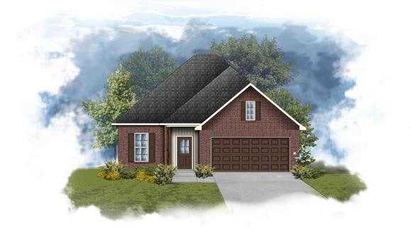 Danbury III G - Open Floor Plan - DSLD Homes