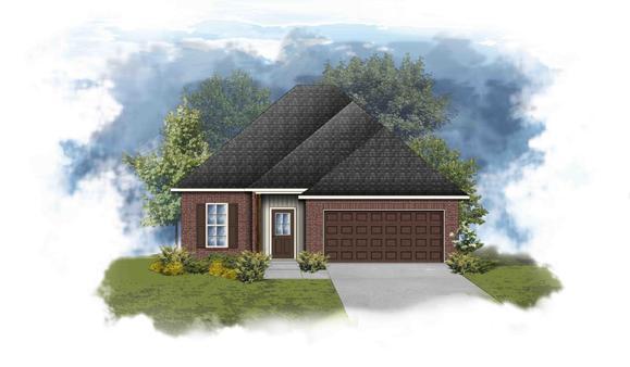 Danbury III H - Open Floor Plan - DSLD Homes