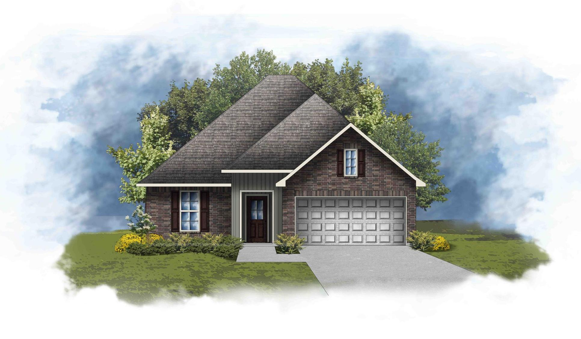 Raeford III A - Open Floor Plan - DSLD Homes