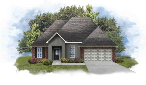 Rowland IV I - Open Floor Plan - DSLD Homes