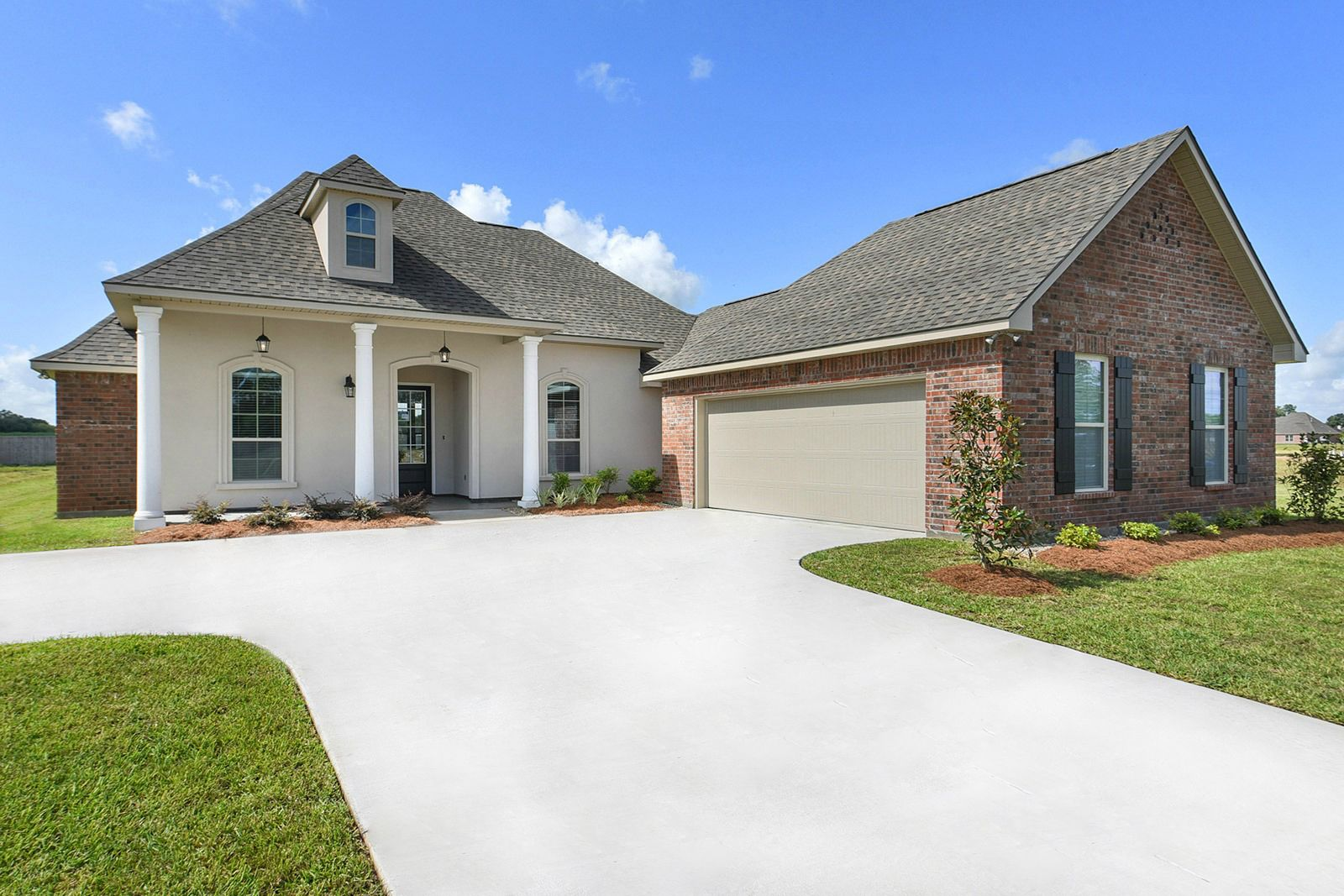 Model Home- DSLD Homes - Paige Place in Broussard:Paige Place Model Home Exterior