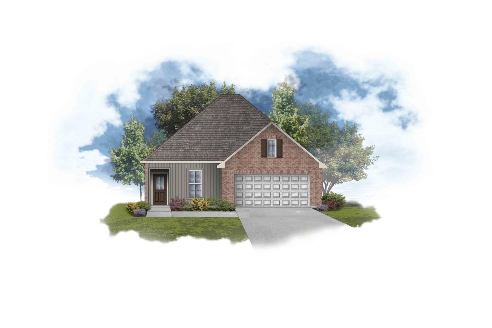 Banbury III G Open Floor Plan - DSLD Homes