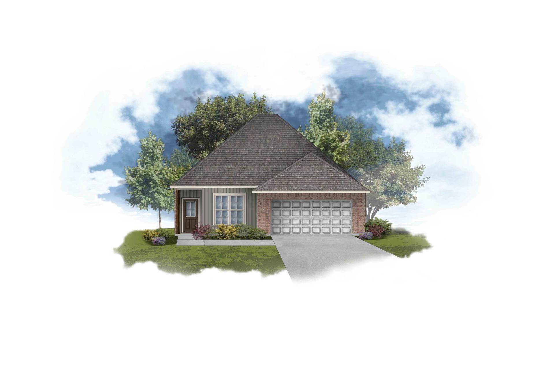 Banbury III H Open Floor Plan - DSLD Homes