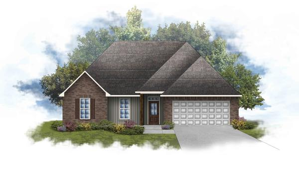 Lily IV G Open Floorplan - DSLD Homes