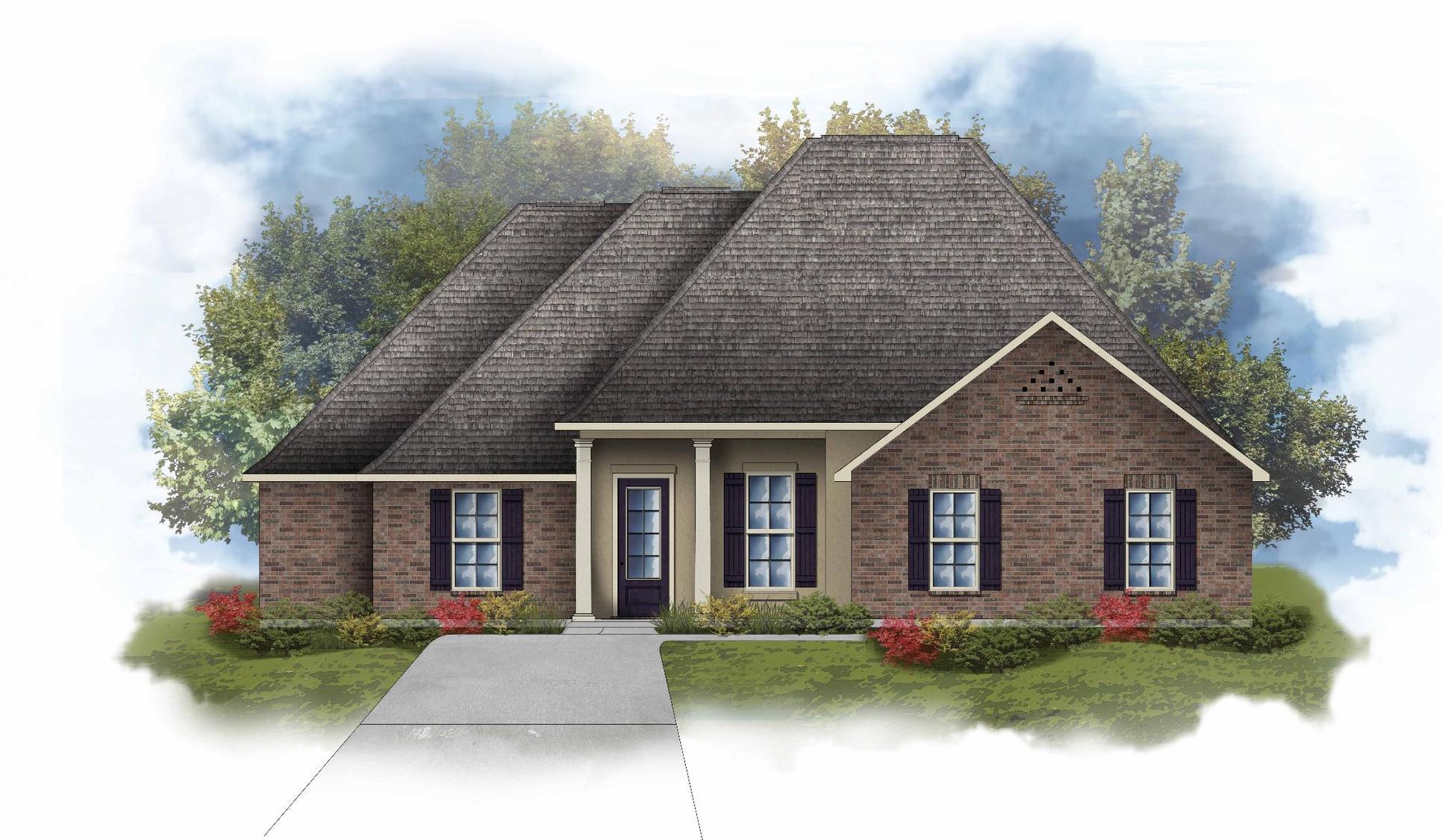 Chardin II A - Open Floor Plan - DSLD Homes
