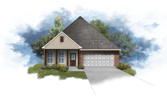 Oakstone IV A - Open Floor Plan - DSLD Homes