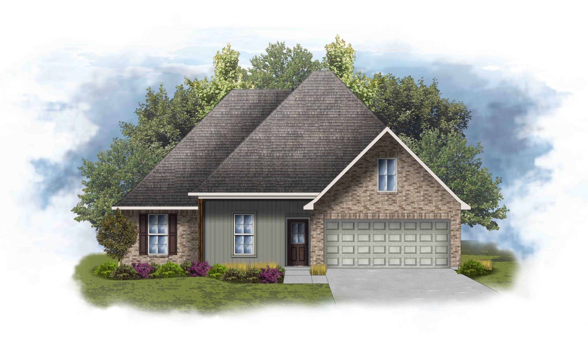 Roxboro IV H Floor Plan Elevation Image - DSLD Homes